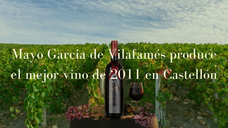 Mayo Garcia de Villafamés produce el mejor vino de 2011 en Castellón